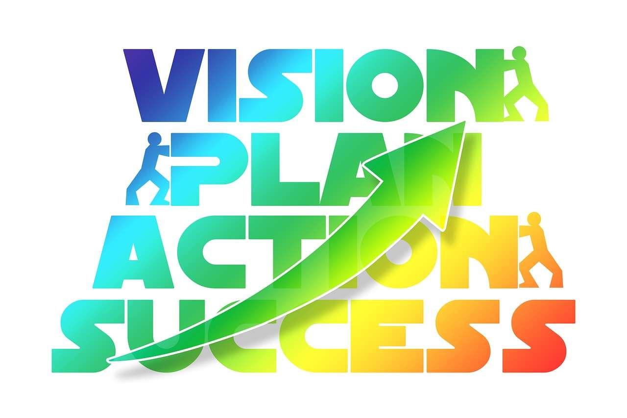 plan, action, success